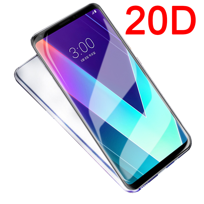 20D Full cover Tempered <font><b>Glass</b></font> on the for <font><b>LG</b></font> G8 V20 V30 V40 V50 ThinQ 5G q6 q60 <font><b>g6</b></font> K40 K50 K10 2017 K8 2018 <font><b>screen</b></font> <font><b>protector</b></font> film image
