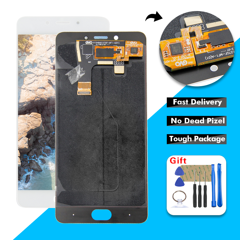 """5.5"""" For ZTE Nubia N2 NX575j LCD Display Touch Screen Digitizer Glass Assembly + Free Tools(China)"""