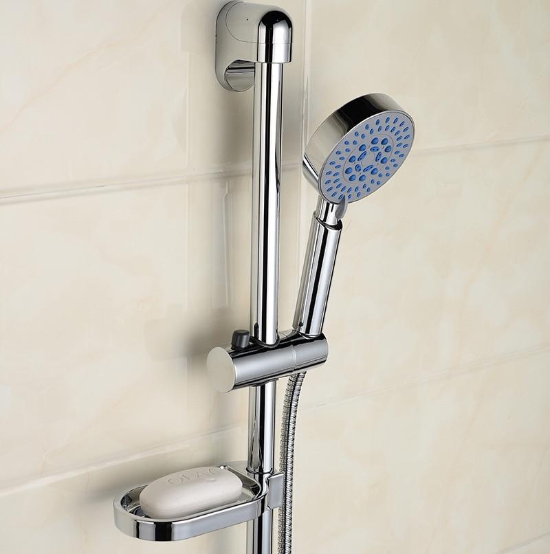 Shower Faucet Lift Rod Stainless Steel Lin Yu Qi Lifting Frame Adjustable Sprinkler Bracket Sub-Shower Set
