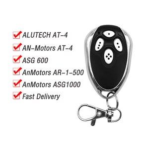 Image 3 - متوافق Alutech AT 4 AR 1 500 AN موتورز ASG1000 التحكم عن بعد 433.92 MHz المتداول رمز 4 قناة فتحت باب المرآب