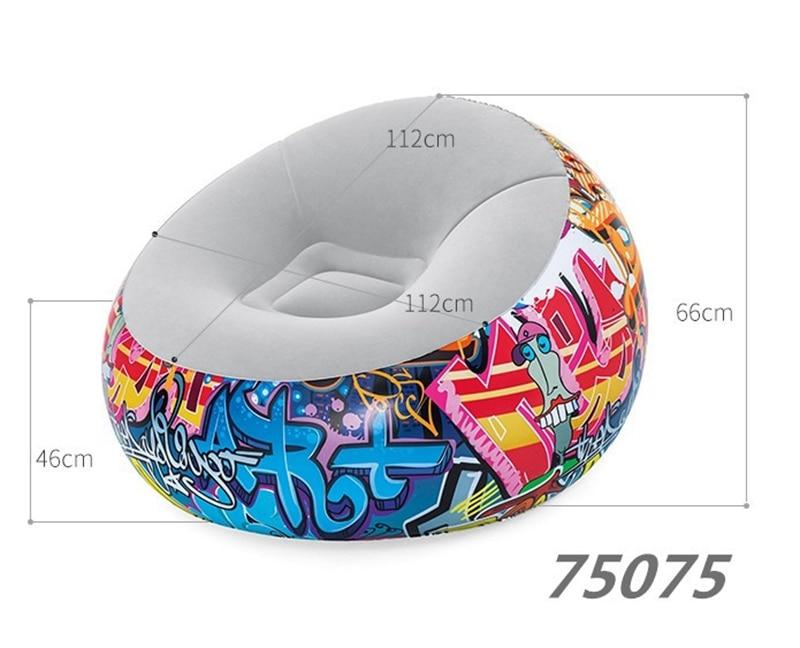 round graffiti sofa (3)