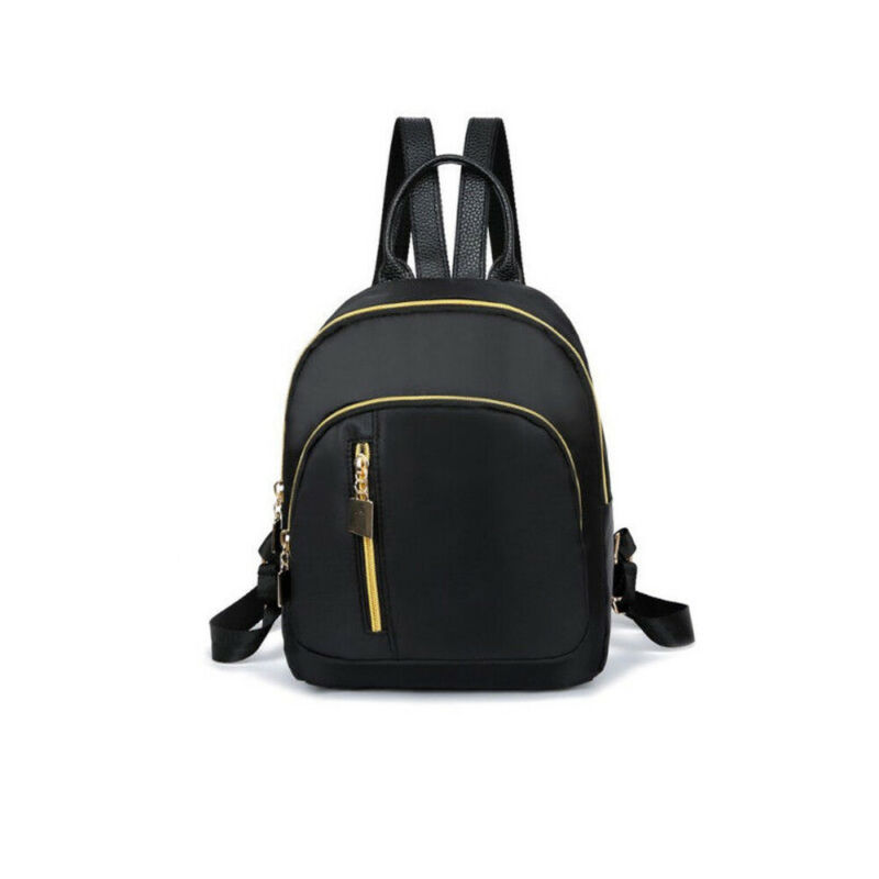 New FashionWomen Girl's Mini Fashion School Black Backpack Travel Shoulder Bag Rucksack