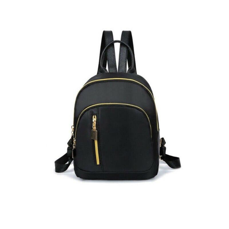 New FashionWomen Girl's Mini Fashion School Black Backpack Travel Shoulder Bag Rucksack