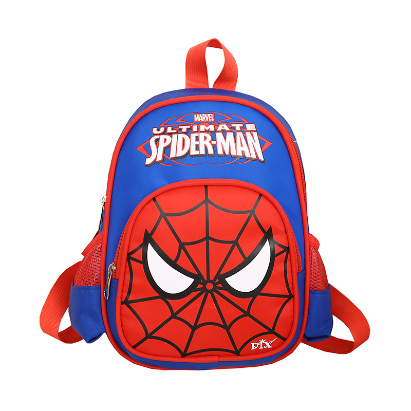 NEW Teenagers Nylon Waterproof Schoolbag Spider Man Kids Cartoon Backpacks Student Backpacks Travel Bag
