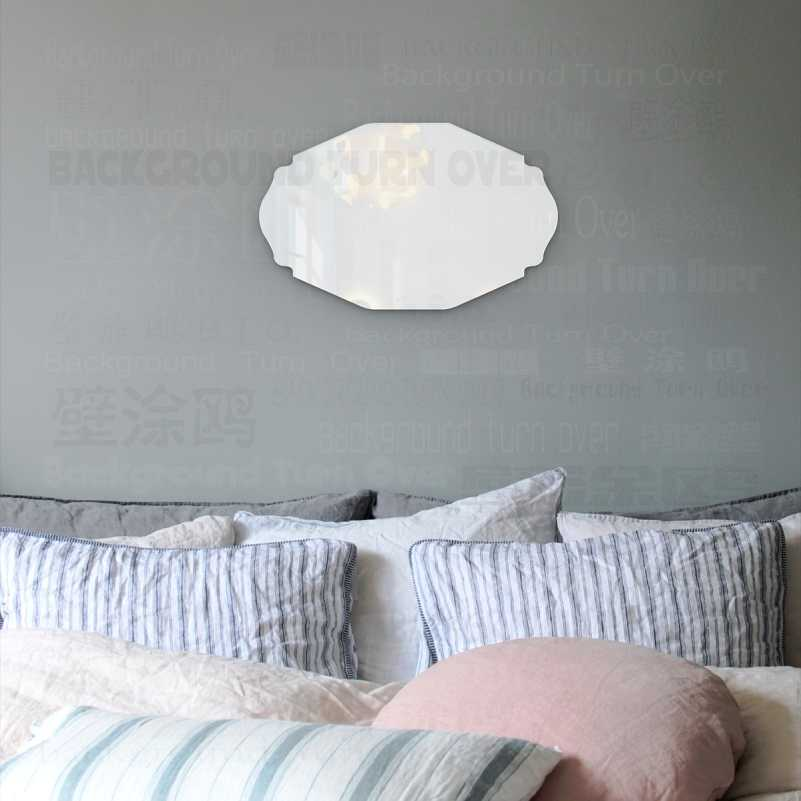 Mirror Wall Vanity Decor Mirrors Bedroom Decorative Vintage Stickers For Oval Royal Luxury Retro Vintage Palace Classic M014 Aliexpress