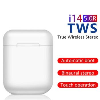 Original i14 TWS Wireless Earphones Bluetooth Headset Invisible Earbuds for Smart Phone PK i11 i12 i13 i15 i7s i20 i60 i30 1
