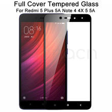 9D Tempered Glass on the For Xiaomi Redmi 5 Plus S2 4X 5A Screen Protector Redmi Note 4 4X 5 5A Pro Safety Protective Glass Film