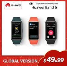 Предварительная продажа браслете Huawei Band 6 Smartband Fitbit уровень кислорода в крови LED экраном сердечного ритма трекер Мониторинг сна Smartband глобал...