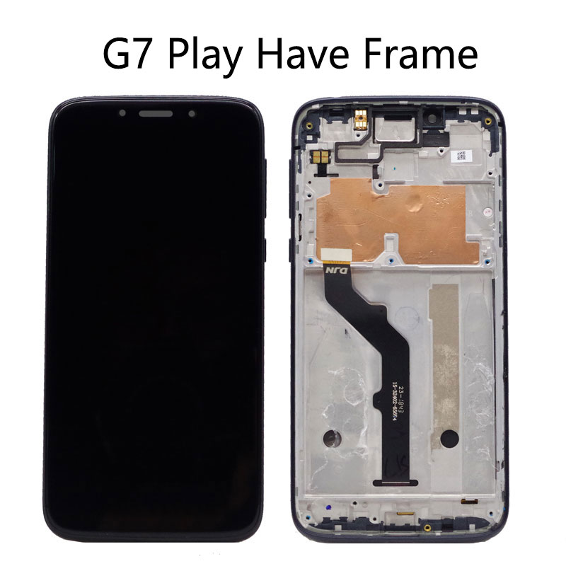 For MOTO G7 LCD Display Assembly For Motorola Moto G7 Play LCD Screen Touch Screen Digitizer For Moto G7 Power LCD Display