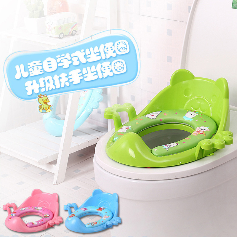 Large Size Toilet For Kids Toilet Seat Baby Toilet Seat Kids Toilet Cover Pad 0-9-Year-Old Universal Style