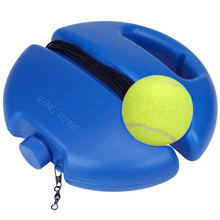Теннисный тренажер мяч с веревочной плинтусом для самостоятельного