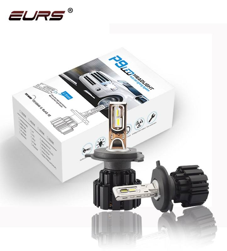 EURS P9 H15 Car <font><b>Led</b></font> <font><b>Headlight</b></font> Bulb <font><b>H4</b></font> Hi/Lo Beam Headlamp H7 H11 9005 9006 9012 car <font><b>headlight</b></font> D1 D2 D3 D4 HID Light <font><b>100W</b></font> 13600LM image