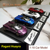 LCD Diecast Model Car Model Pagani Huayra 1:43 Model Car Decoration Collection Gifts Birthday Festival Gifts