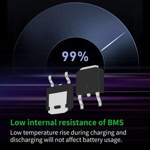Image 3 - Qucc Lifepo4 48 فولت BMS 16S 200A 250A سيارة كهربائية موتور ليثيوم الحديد الفوسفات عالية الحالية الإفراط في الشحن لوح حماية التعادل