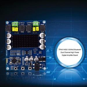 Image 2 - 120Wx2 TPA3116D2 Bluetooth Dual Channel High Power Digital Amplifier Board Stereo Speaker Amplifier