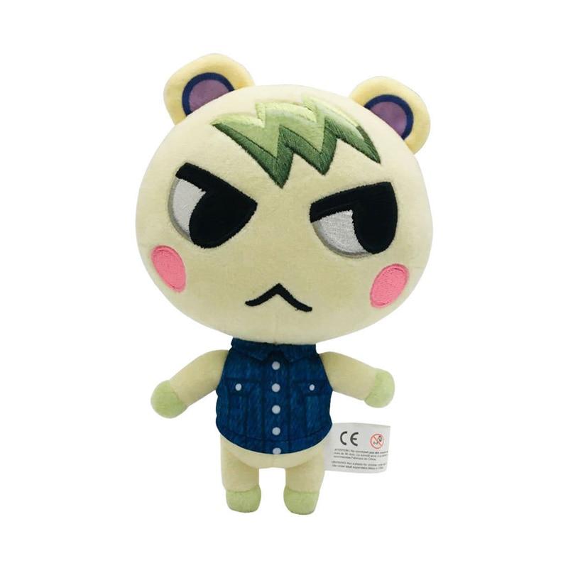 1pcs 20cm Animal Crossing Marshal Plush Toys Marshal Plush Toys Soft Stuffed Anime Plush Toys Children Kids Gifts