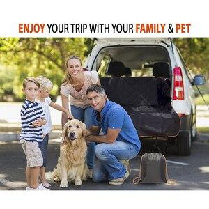 Image 5 - Cawayi מלונה כלב Carrier סוגר עמיד למים לחיות מחמד כלב רכב מושב כיסוי כרית חתולי ערסל מגן חתול תחבורה Perro Autostoel