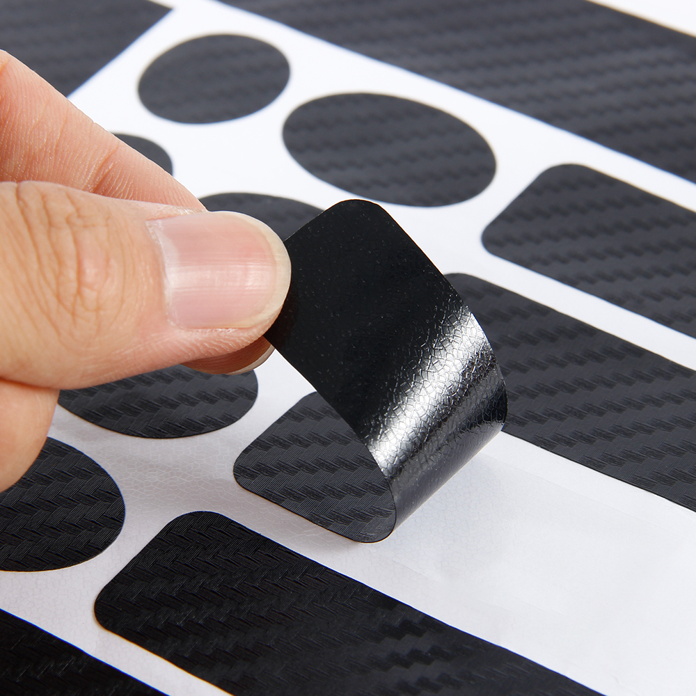 Bicycle Chain Protetor Tape Sticker Carbon Foil Bike Accessories Cycling Decals MTB Front Scratch-Resistant Paster Guard Cover