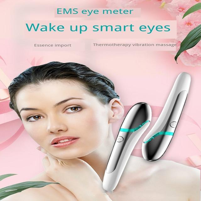 Ems микротоки массажер для глаз против морщин Удаление темных