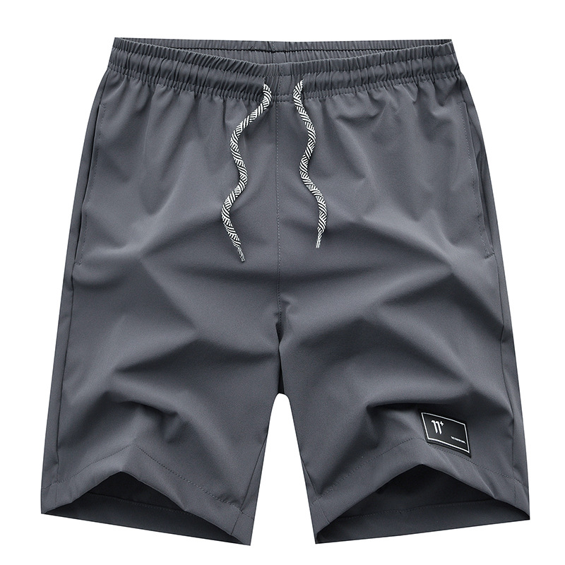 2019-MEN'S Sports Pants Casual Quick-Dry Shorts Korean-style Fashion Shorts Large Trunks Shorts