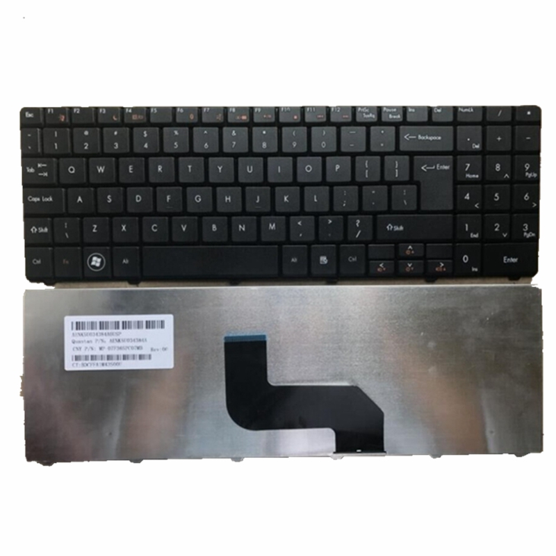 New Keyboard For Packard Bell EasyNote TJ65 TJ66 TJ67 TJ71 TJ72 TJ73 TJ74 TJ75 TJ76 TJ77 TJ78 English Laptop Keyboard Black UI