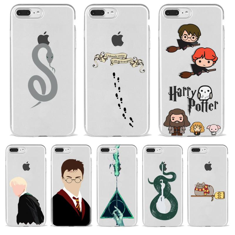 Potter Magic Harries Phone Case Transparent For Iphone 12 Mini 11 Pro Max Xr X 7 8 PLUS Xs SE 2020 Cover Hollow out