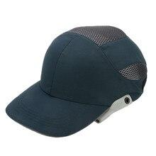 Bump Cap Head-Helmet Hard-Hat Construction-Site Workplace Reflective-Stripes Safety Lightweight