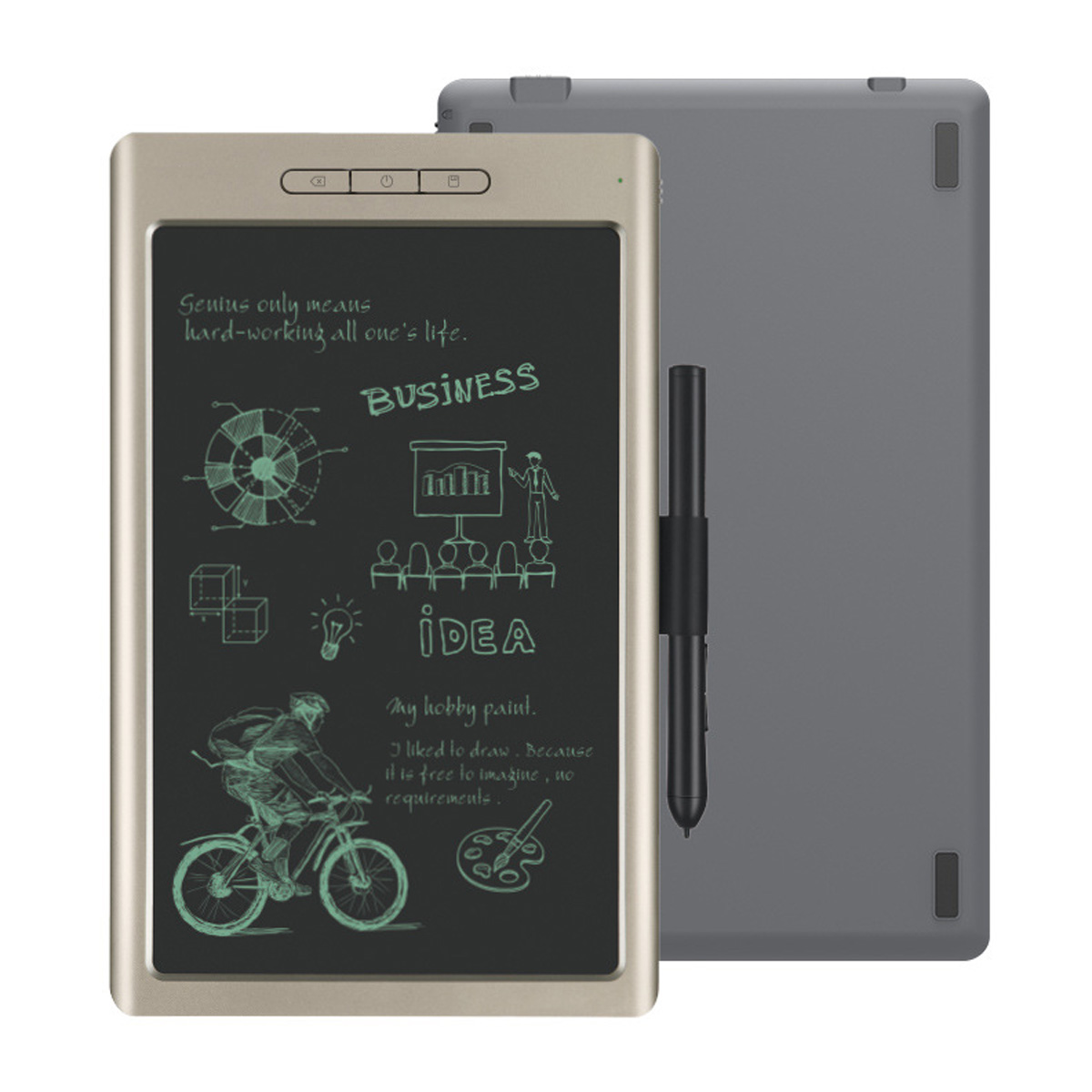 10'' bluetooth USB LCD Digital Anime Drawing Online Learn Graphics Tablet with Digital Pen for Android Windows for MAC