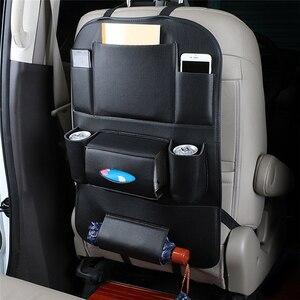 Image 1 - Органайзер для автомобильных сидений Универсальный водонепроницаемый автомобильный мешок для хранения мульти карманная навесная сумка чехол для автомобиля Авто интерьерная композиция аксессуар органайзер в машину