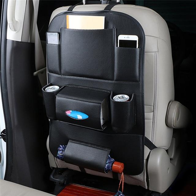 Органайзер для автомобильных сидений Универсальный водонепроницаемый автомобильный мешок для хранения мульти карманная навесная сумка чехол для автомобиля Авто интерьерная композиция аксессуар органайзер в машину