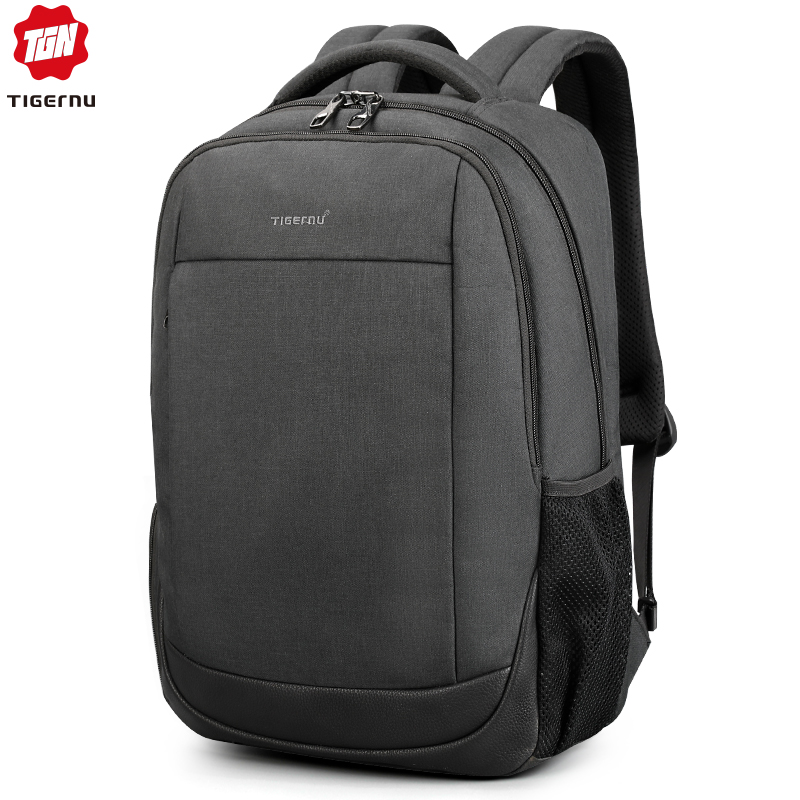 """Tigernu marka USB ładowania mężczyzna plecak przeciw kradzieży 15.6 """"Laptop plecak biznesowy torba kobiety torba szkolna Mochila dla mężczyzn w Plecaki od Bagaże i torby na  Grupa 1"""