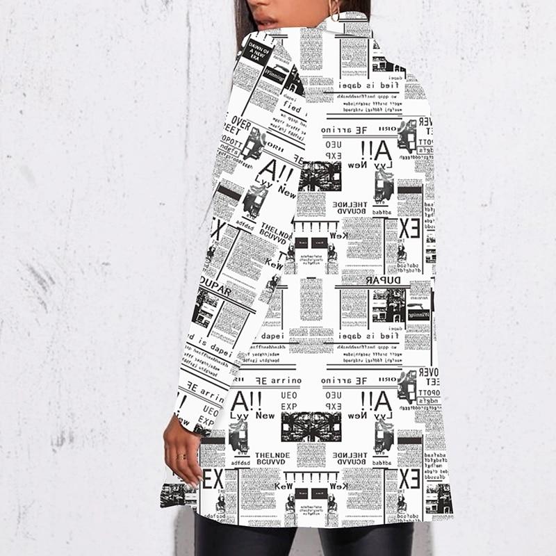 Hfab6c0d106704cf5bf39dfc428fcfb5dU Fashion Trend Women Lapel Leopard Print Long Sleeves Suit Jacket Elegant Fall Winter Office Lady Cardigan Coat Casual Streetwear