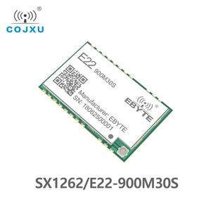 Image 5 - LORAWAN SX1262 LoRa TCXO 915 433mhz の無線モジュール ebyte E22 900M30S スタンプ穴 IPEX アンテナ 850 930 mhz の rf トランスミッタと受信機