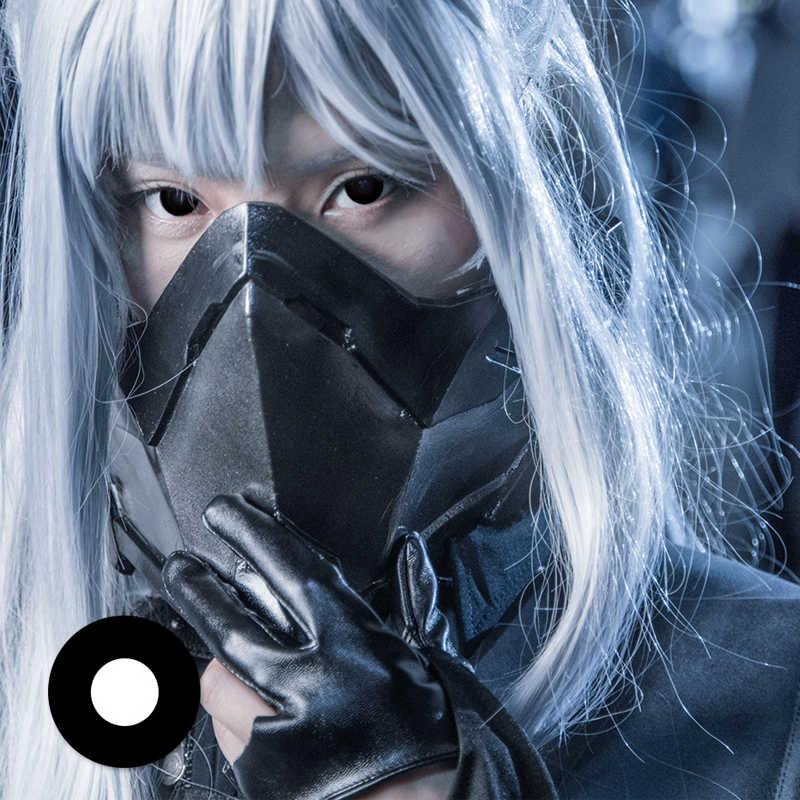 1 para = 2 szt. Kolorowe soczewki kontaktowe do oczu kolorowe Halloween Cosplay seriale Anime Party postać z kreskówki uczeń uroda makijaż