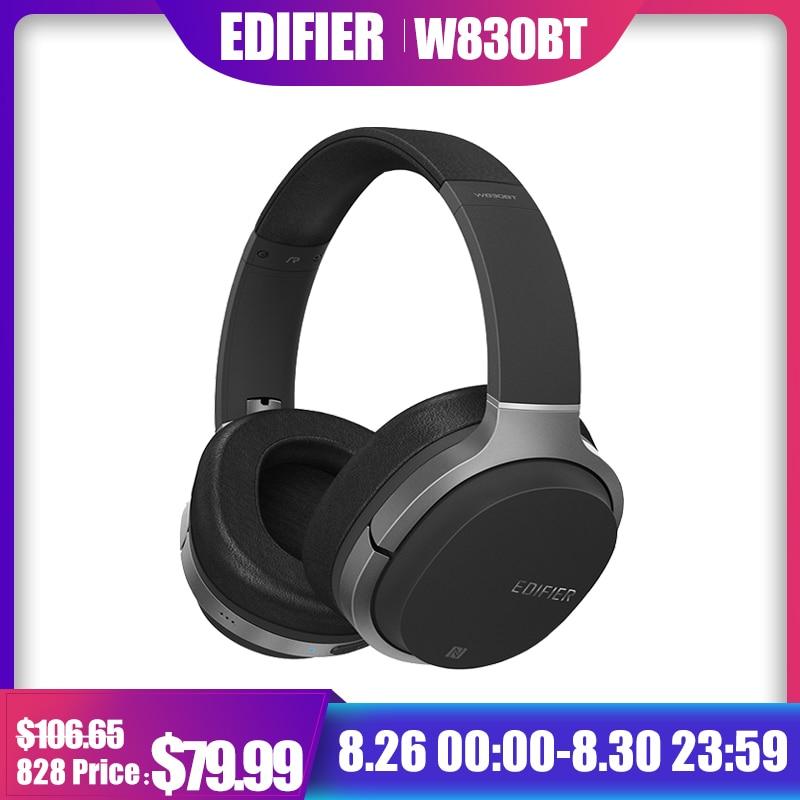 Original Edifier W800BT Stereo Bluetooth Headset Wireless Bluetooth headset music computer noise reduction HIFI headset call sony беспроводные наушники