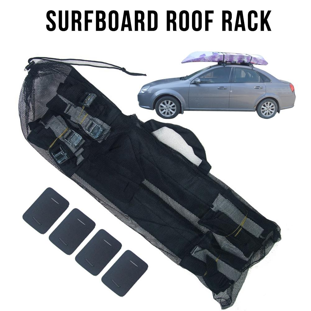 Surfboard Ceiling Storage Rack Car Roof Rack Pads for Surfboard Kayak SUP Snowboard Racks Durable foam padding to protect roof