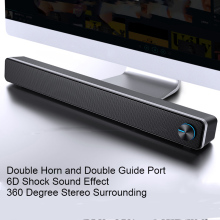 SADA V 195 Home Soundbar Computer Speaker Household Desktop Dual Speaker 3D Stereo Surround System for PC TV
