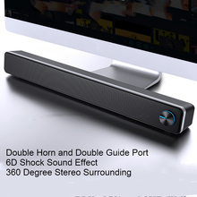 SADA V 195 maison barre de son ordinateur haut parleur ménage bureau double haut parleur 3D stéréo système Surround pour PC TV