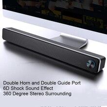 Sada V 195 Thuis Soundbar Computer Speaker Huishouden Desktop Dual Speaker 3D Stereo Surround Systeem Voor Pc Tv