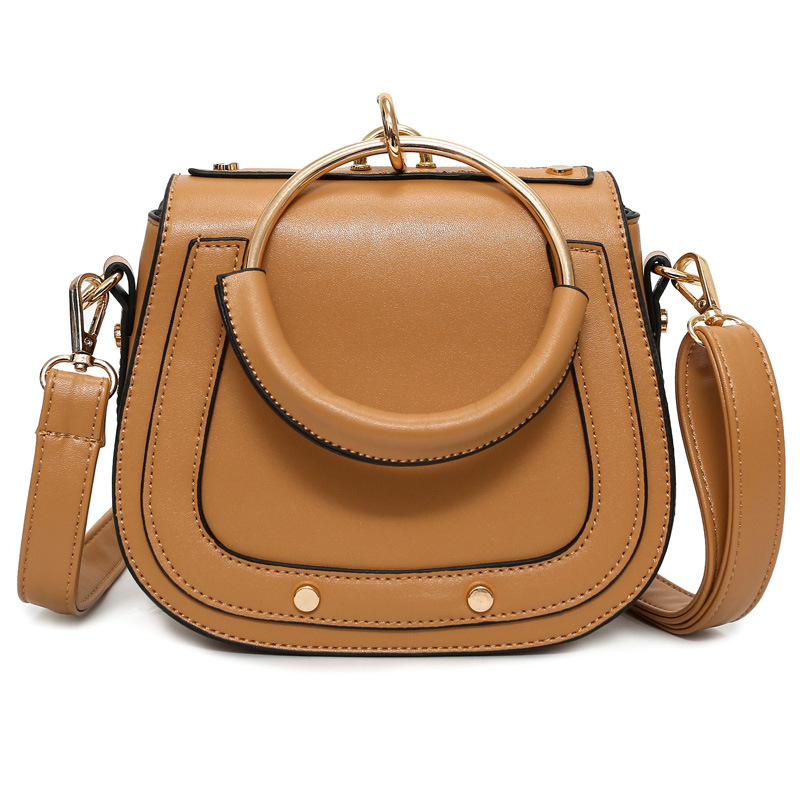 Luxury Saddle Bag For Women Messenger Bag PU Leather Handbags Female Small  Crossbody Shoulder Bags Luxury Shoulder Pack B1