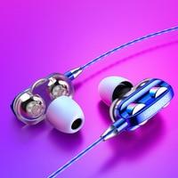 Wired Kopfhörer Hohe Bass 6D Stereo Surround Sound Headsets In-Ohr Kopfhörer Ohrhörer Sport Kopfhörer Für Android Ios