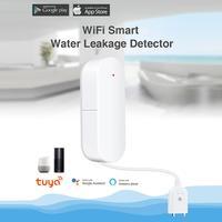 WIFI Water Leak Sensor Flood Leakage Level Alarm Detector Tank Overflow Protection Tuya Smart Life App Home House Remote Control