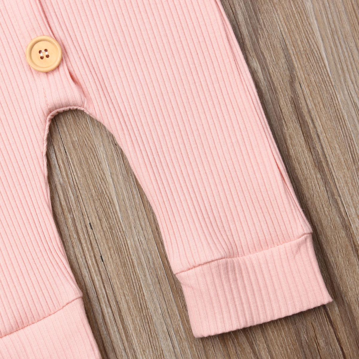 Hfab88915c9954762a9b0eba795d8a812K Spring Fall Newborn Baby Girl Boy Clothes Long Sleeve Knitted Romper + Headband Jumpsuit 2PCS Outfit 0-24M