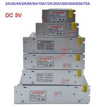 цена на Wholesale DC 5V Lighting Transformer 2A/3A/4A/5A/6A/8A/10A/12A/20A/30A/40A/60A/70A led strip Switching Power Supply led driver