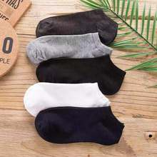 Boat Short-Socks Spring Ankle Solid-Color Cotton Summer Women Low-Cut 20pcs Invisible