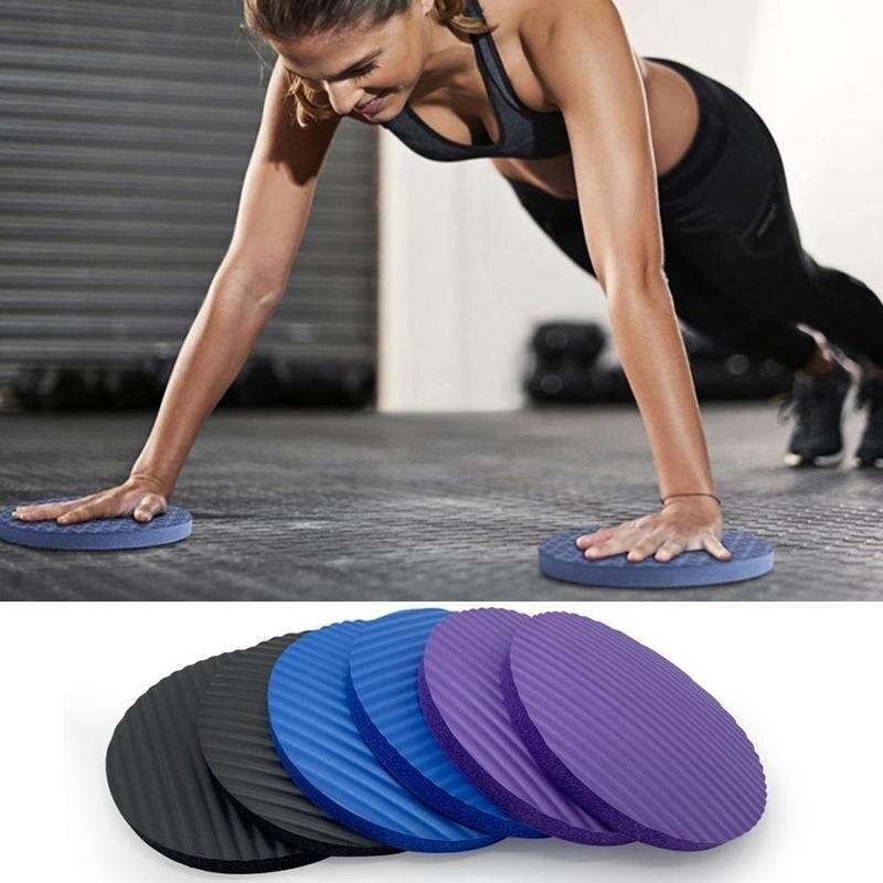 Pad Yoga Knee Portable Slip Round Non