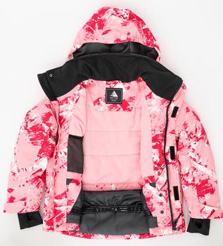 Zestawy ubrań zimowych dla dzieci dziewczęce kombinezony narciarskie dla dzieci narciarstwo płaszcze snowboardowe Outdoor Warm Hooded Snowboard garnitury sportowe tanie i dobre opinie VECTOR CN (pochodzenie) COTTON NYLON Dziewczyny Z kapturem Skiing Dobrze pasuje do rozmiaru wybierz swój normalny rozmiar
