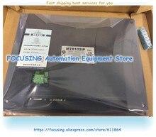 Original novo na caixa para exibição de toque mt8102ip hmi garantia de 1 ano