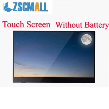 """Portable Monitor 13.3"""" Touch Screen Monitor Gaming monitor IPS 1080p HD display for PS4 Laptop Phone Xbox Switch Pc with Case"""