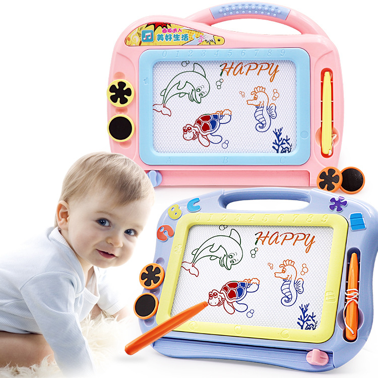 Micro Children Magnetic Color Sketchpad Baby Early Childhood Hand Painting Writing Board Educational Toy